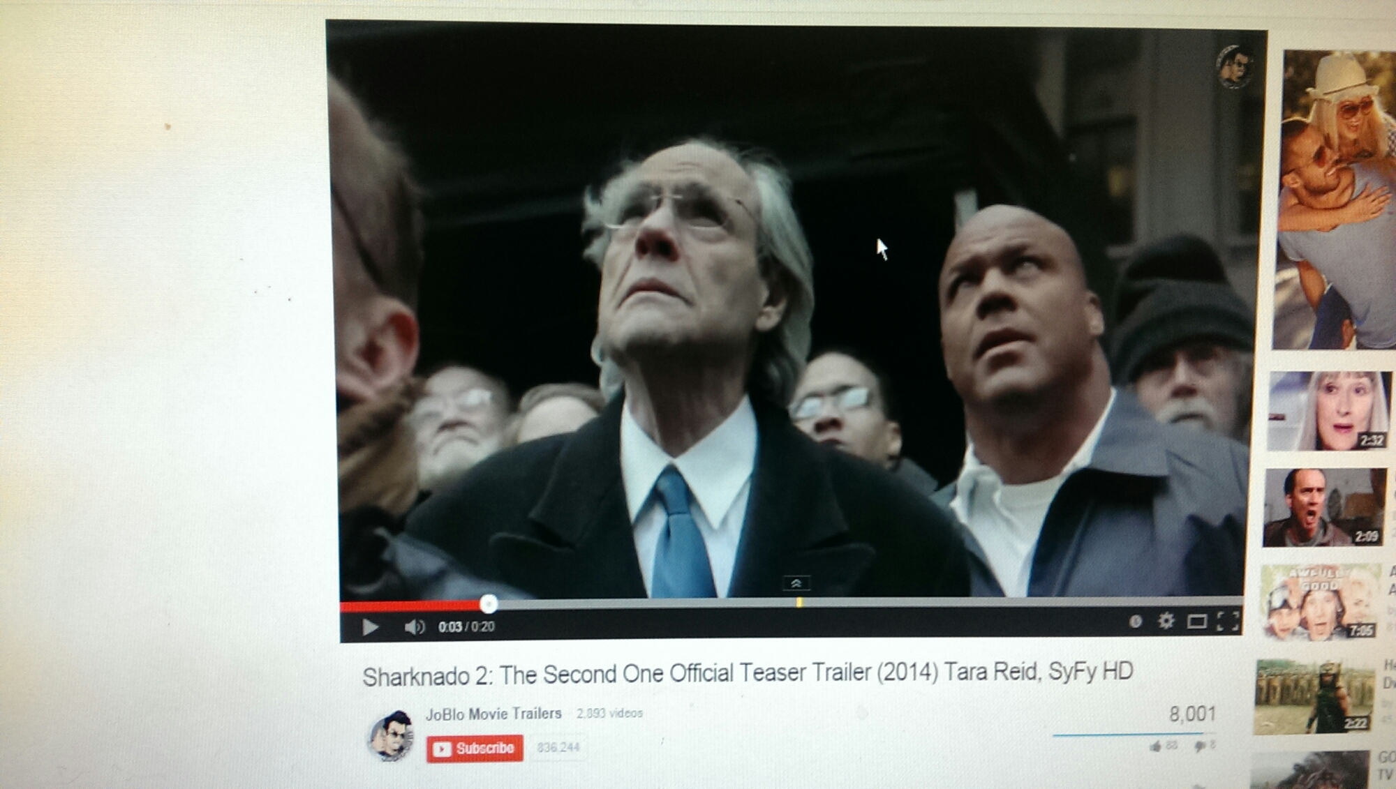 The Sharknado 2 Teaser Trailer - 1230.7KB