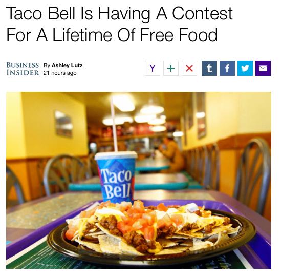 taco copy